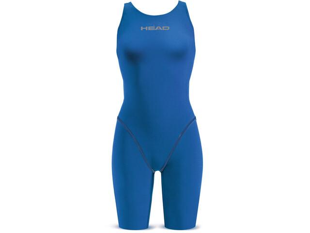 Head Liquidfire Power Open rug Knee Suit Dames, blauw